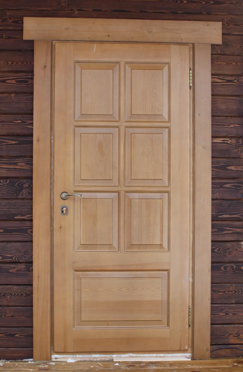 Входные деревянные двери для частного дома утепленные своими руками 505